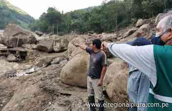 Huancabamba: ejecutan acciones de emergencia en distrito de Canchaque afectado por deslizamiento - El Regional