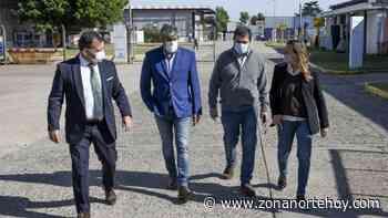 Moreira visitó cuatro importantes empresas del Parque Industrial Newton, en Villa Ballester - zonanortehoy.com