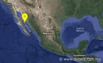 Sismo de 4.3 grados en Santa Rosalía, BCS se siente en Guaymas, Sonora - Debate