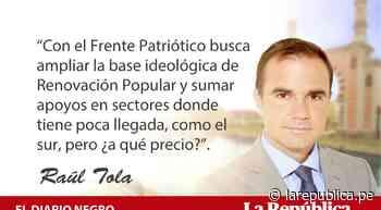 Antaurismo de derecha, por Raúl Tola - LaRepública.pe