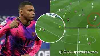 Kylian Mbappe 'Turns Into Usain Bolt' As He Shows Blistering Pace In Stunning PSG Goal - SPORTbible