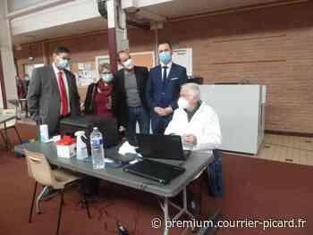 Top départ pour la vaccination à Liancourt - Courrier picard