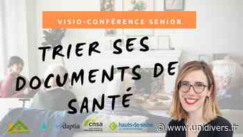 Trier ses documents de santé CNSA jeudi 18 mars 2021 - Unidivers