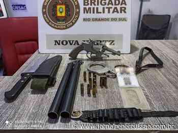 Homem é preso por porte ilegal em Nova Hartz - Jornal Repercussão