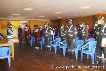 Agentes de serenazgo de Ilave se fortalecen en cumplimiento de sus funciones - Pachamama radio 850 AM