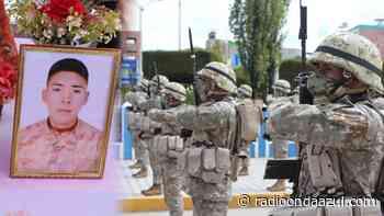 Ilave: Compañeros recuerdan a soldado Ronald Mamani, atropellado en pandemia - Radio Onda Azul