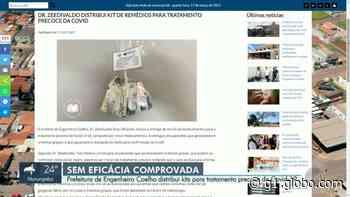 Prefeitura de Engenheiro Coelho anuncia distribuição de 'kit Covid' a pacientes com sintomas gripais - G1