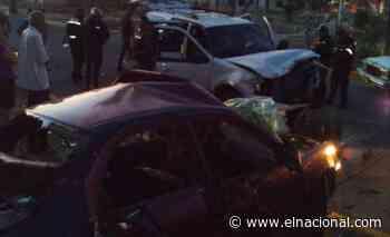 Un muerto y cinco heridos tras un choque en Ciudad Ojeda - El Nacional