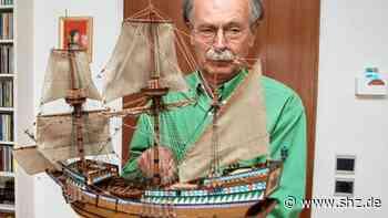 Schiffsmodelle aus Fahrdorf: Alles Handarbeit: Bausätze kommen für Reinhard Kühn nicht in Frage   shz.de - shz.de
