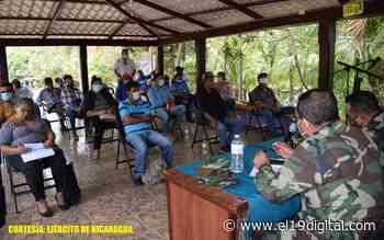 Reunión con productores y ganaderos del municipio de Villa El Carmen - El 19 Digital