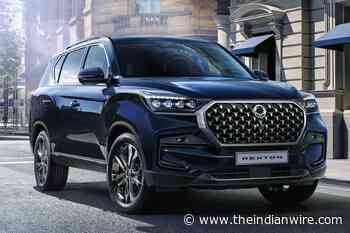 2021 SsangYong Rexton Revealed; Launch In India Still Uncertain - The Indian Wire