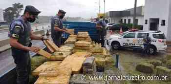 Homem é preso mais de 2,7 toneladas de maconha em Agudos - Jornal Cruzeiro do Sul