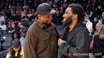 John David Washington says he still isn't out of dad Denzel Washington's 'shadow' - ABC News