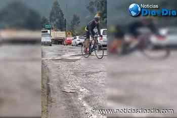 Confirman arreglo de vía Cajicá – Sopó, Cundinamarca - Noticias Día a Día