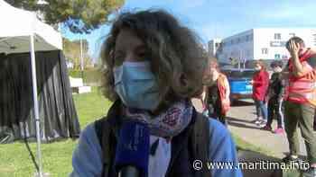 Marignane. Le dépistage et le rappel des gestes barrières se poursuivent aujourd'hui - Marignane - Coronavirus - Maritima.info