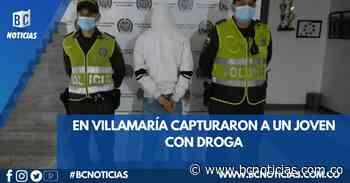 En Villamaría capturaron a un hombre de 19 años con estupefacientes - BC Noticias