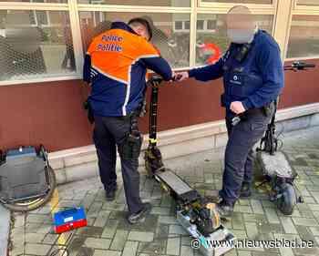 Politie neemt 'opgedreven' steps en eenwieler in beslag die hallucinante snelheden tot 109 kilometer per uur halen