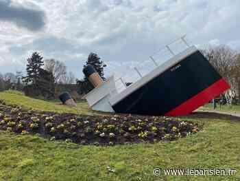 Bas-Rhin : le «Titanic» du rond-point de Schweighouse-sur-Moder a déjà ses fans - Le Parisien