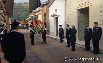 Trigesimo della morte del carabiniere Iacovacci, cerimonia a Sonnino - latinaoggi.eu