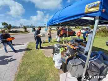 Juntaron toneladas de desechos tecnológicos en Punta Mogotes - InfoBrisas