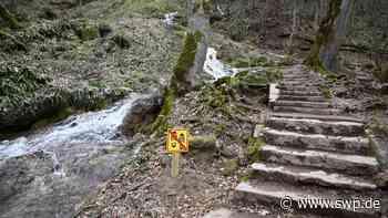 Wasserfall Bad Urach: Besuchermassen beschädigen Geotop – Was nun helfen soll - SWP