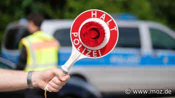 Polizei: In Ahrensfelde ohne Fahrerlaubnis und Versicherungsschutz, aber mit gestohlenen Kennzeichen unterwegs - moz.de
