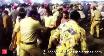 Telangana: Several injured as temporary gallery collapses during Kabaddi championship in Suryapet - Economic Times