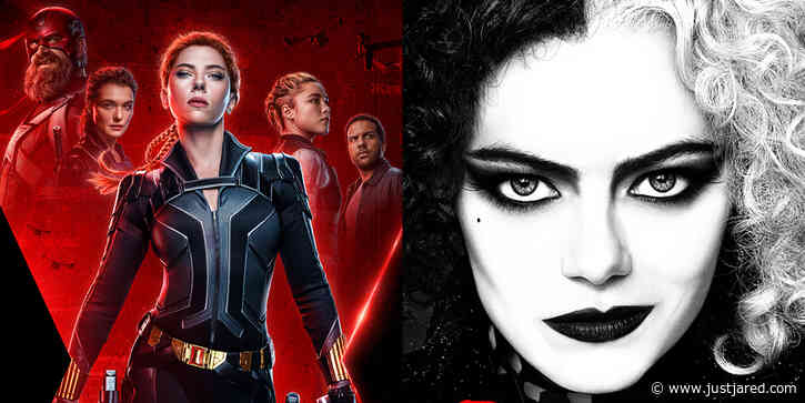 'Black Widow' & 'Cruella' to Debut on Disney+, Many Release Dates Altered