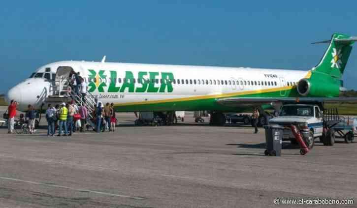 Laser Airlines suspendió todos los vuelos desde y hacia Porlamar - El Carabobeño