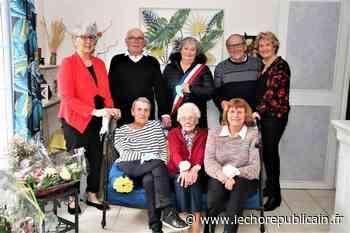 Cette centenaire était fière de célébrer son anniversaire avec ses enfants - Echo Républicain