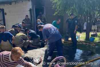 Trágico incendio en Benavidez - elcomercioonline.com.ar