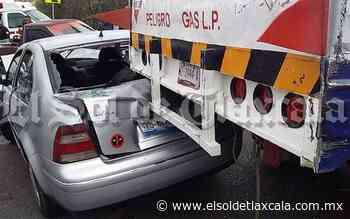 Encontronazo deja 7 lesionados en la carretera Tlaxco-Chignahuapan - El Sol de Tlaxcala