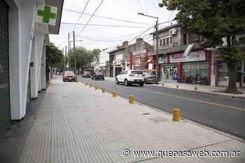 El centro comercial de la calle José Ingenieros en Beccar tiene nuevas veredas - Que Pasa Web