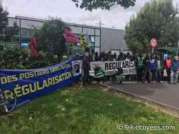 Manifestation de travailleurs sans papiers Alfortville-Créteil - 94 Citoyens