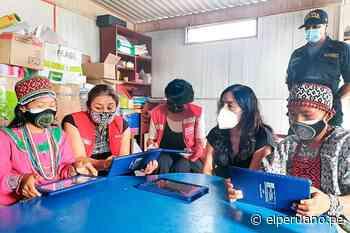 Minedu reparte tabletas a escolares shipibo-konibos de Cantagallo - El Peruano