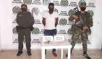 Policía incautó un revólver en Pinillos, Bolívar - Caracol Radio