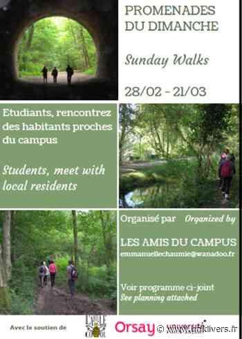 Annulé | Promenades du dimanche Université Paris-Saclay – bâtiment 302 dimanche 28 février 2021 - Unidivers