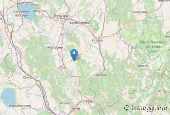 Terremoto, due lievi scosse con epicentri Massa Martana - TuttOggi