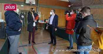 Schnelltestzentrum in Monsheim: 500 Abstriche in zwei Wochen - Wormser Zeitung