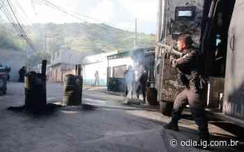 Manhã de tiroteio no Morro da Serrinha, em Madureira - Jornal O Dia