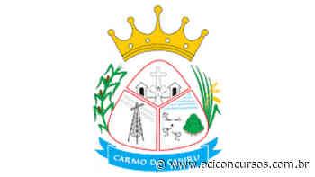 Concurso Público da Prefeitura de Carmo do Cajuru - MG tem inscrições prorrogadas - PCI Concursos