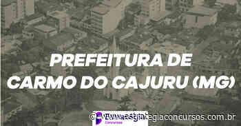 Prefeitura Carmo do Cajuru: concurso público passa por retificação - Estratégia Concursos