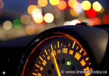 Holland Landing driver clocked at more than twice the speed limit: Police - BradfordToday