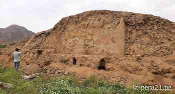 La Libertad: Hallan huaca y pintura con más de 3,200 años de antigüedad atentada por agricultores - Diario Perú21