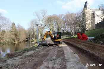 """Châteaubriant : les travaux de la rue du Duc d'Aumale seront finis """"au début de l'été"""" - L'Eclaireur de Châteaubriant"""