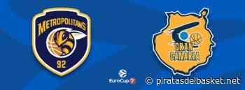 Previa Cuartos EuroCup: Boulogne Metropolitans 92 vs. Herbalife Gran Canaria - Piratas del Basket