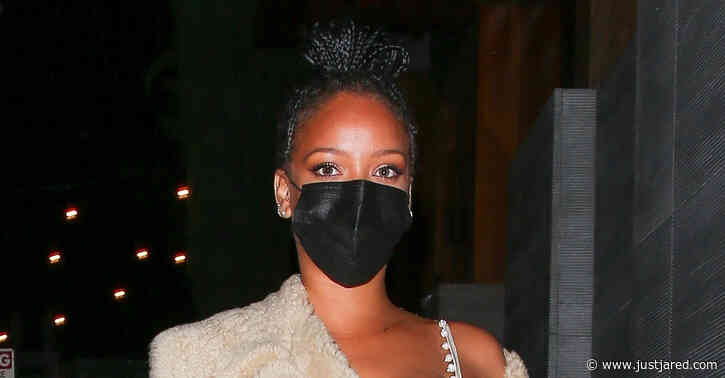 Rihanna Struts Her Way to Dinner in West Hollywood
