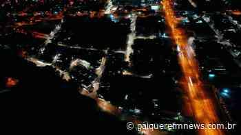 Prefeitura de Londrina entrega nova iluminação em LED da Vila Marízia - Paiquerê FM News