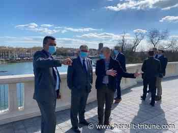 Le nouveau sous-préfet d'arrondissement en visite à Agde. - Hérault-Tribune