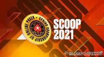 2021 PokerStars SCOOP Turnierplan; $100 Mio. garantiert